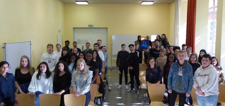 Schülerinnen und Schüler der GSH während ihrer Projektarbeit